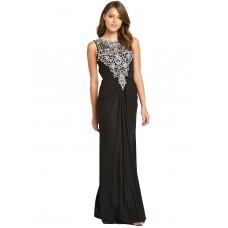 15238bd2b34 Forever Unique Beaded Ariel Maxi Dress Black