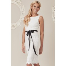 Stephanie Pratt For Goddiva Lace Dress White