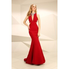 Nataliya Couture Dress Annie Gown in Red