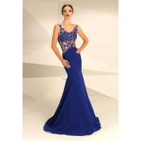 Nataliya Couture Dress Daisy Gown In Royal Blue