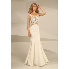 Nataliya Couture Dress Daisy Gown In Cream