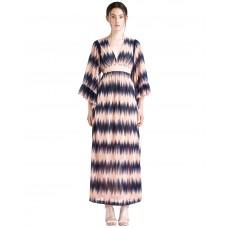 Ukulele Ivy Maxi Dress Blue Multi
