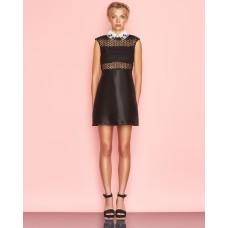 Ukulele Elodie Shift Dress Black