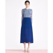 Ukulele Blair Dress Blue