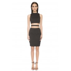 Aloura London Kendal Cutout Dress Black