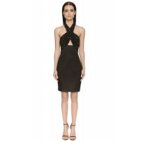 Aloura London Primrose Dress Black