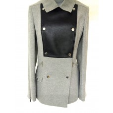 Karen Millen Signature Moleskin Jacket Grey | Black