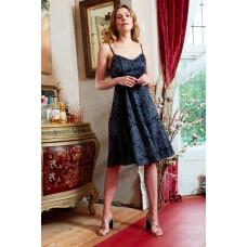 Sarvin Nina Shimmery Jacquard Dress