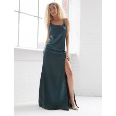 Sarvin Rosie Backless Gown Emerald