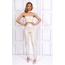 Sarvin Ivory Kate skinny Trousers