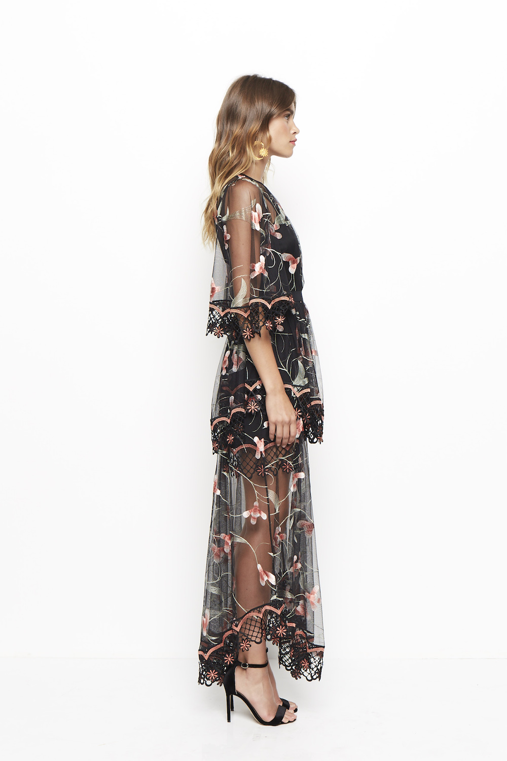 Alice Mccall Marigold Maxi Dress Black Sugar Plum