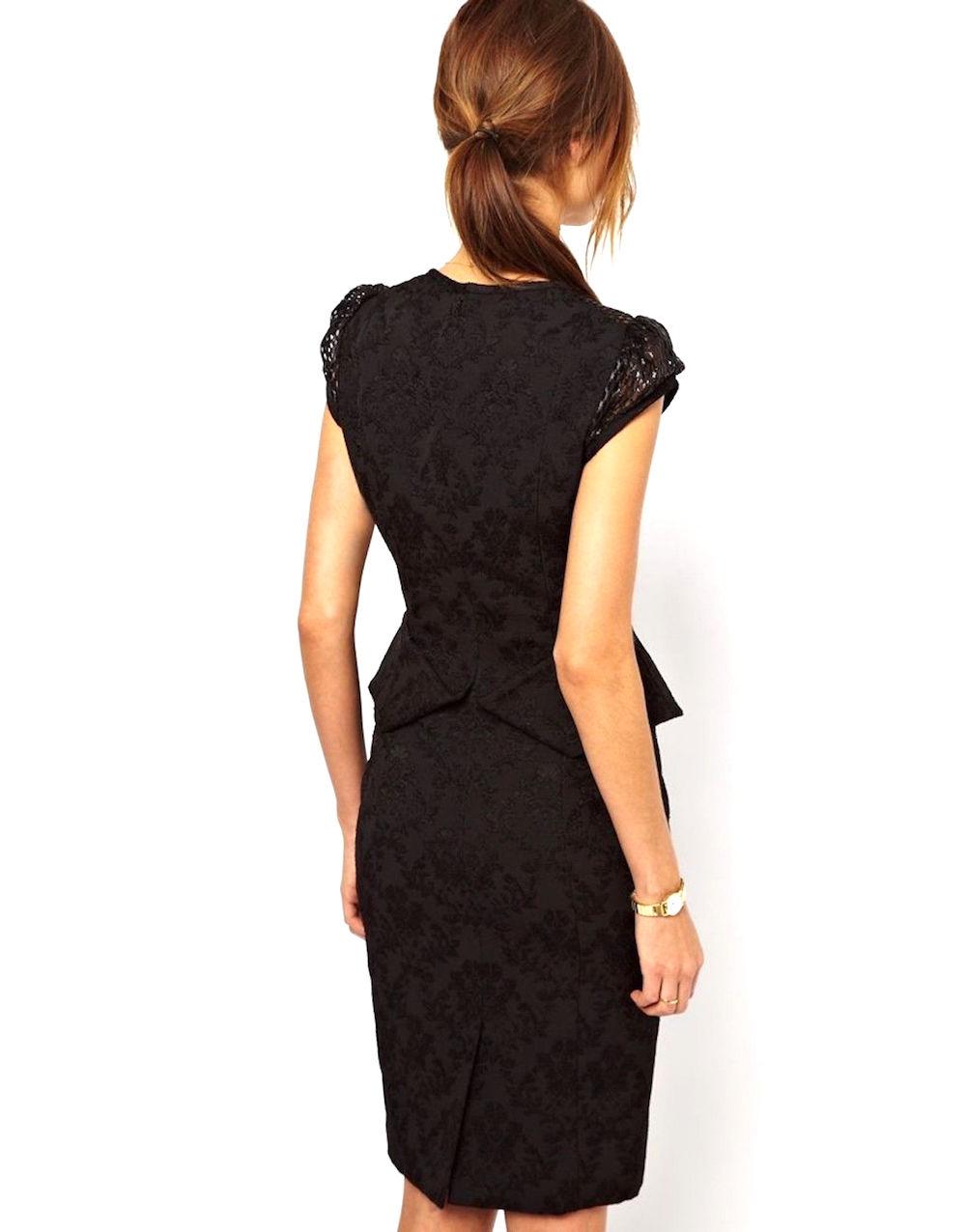 Black dress karen millen - Black Dress Karen Millen 42