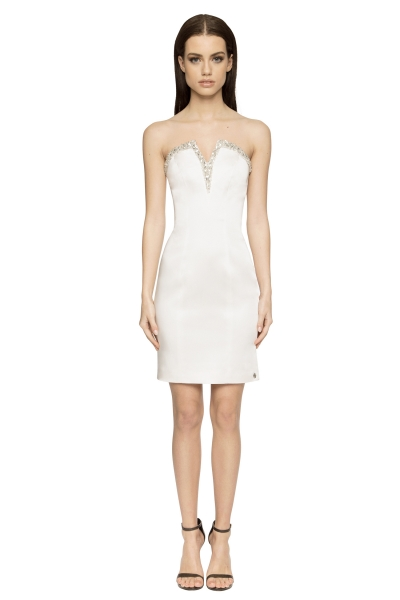 Aloura London Lillie Dress White