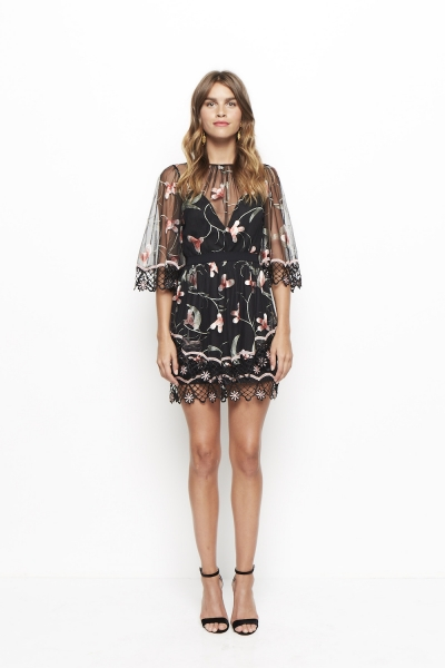 Alice McCall Wish You Were Here Dress Black Sugar Plum