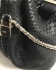 Karen Millen Snake Mini Bag Black Leather